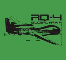 RQ-4 Global Hawk Baby Tee