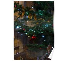 Tree Lights and Baubles Poster