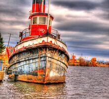 Thunder Bay Harbor by Dawne Olson