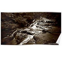 Leura Cascades, Blue Mountains Poster