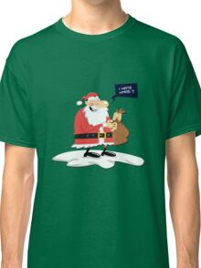 CLAUS HATE XMAS Classic T-Shirt