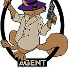 Secret Squirrel by ShawnHallDesign