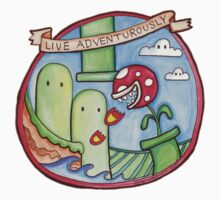 Live Adventurously Kids Clothes