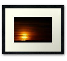 Summer Sunrise  Framed Print