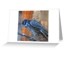 The Accused (Murder of Crows Series) Greeting Card