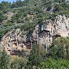 Dalyan Lycian Rock Tombs by taiche