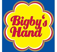 Bigby's Hand (Chupa Chups Logo) - Critical Role Quotes Photographic Print