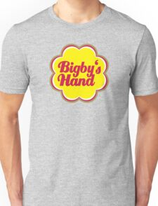 Bigby's Hand (Chupa Chups Logo) - Critical Role Quotes Unisex T-Shirt