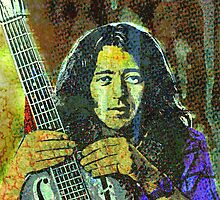 Rory Gallagher by OTIS PORRITT