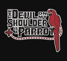 Shoulder Devil Parrot T-Shirt
