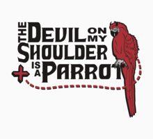 Shoulder Devil Parrot Kids Clothes