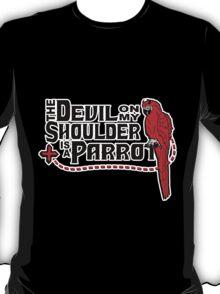 Shoulder Devil Parrot T-Shirt