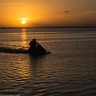 Sunset Scoot by Imagery