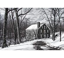 Cooper Mill Christmas Photographic Print