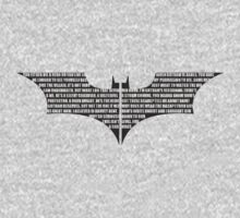 Batman Quotes by WickedisGood