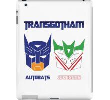 Batman and Transformers - TransGohtam iPad Case/Skin