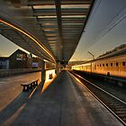Liege Station Sunrise  by Rob Hawkins