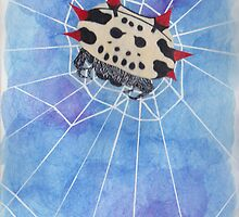 Spiny Orb Weaver by Ahsyla