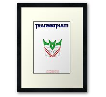 Joker and Transformers - Jokerons Framed Print
