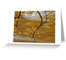 Autumn on the Jock River Greeting Card