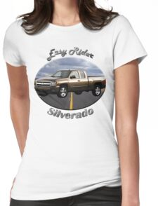 Chevy Silverado Truck Easy Rider Womens Fitted T-Shirt