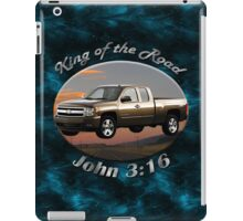 Chevy Silverado Truck King Of The Road iPad Case/Skin
