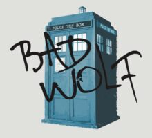 Bad Wolf Graffiti Shirt by novawhitefire