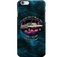 Chevy Silverado Truck Heaven Don't Want Me iPhone Case/Skin