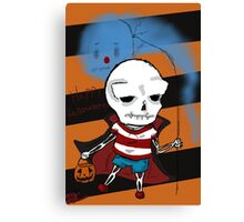 Vincent & Ecto Halloween Canvas Print
