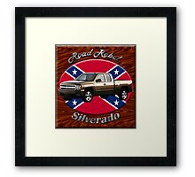 Chevy Silverado Truck Road Rebel Framed Print