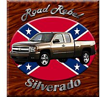 Chevy Silverado Truck Road Rebel Photographic Print