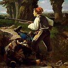 Pasquale Cova at Battle of Varese by Bridgeman Art Library