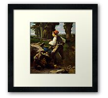 Pasquale Cova at Battle of Varese Framed Print