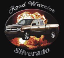 Chevy Silverado Truck Road Warrior Kids Tee