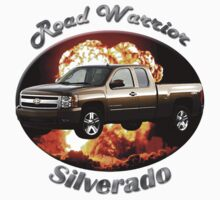 Chevy Silverado Truck Road Warrior by hotcarshirts