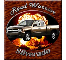 Chevy Silverado Truck Road Warrior Photographic Print