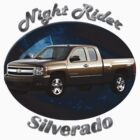 Chevy Silverado Truck Night Rider by hotcarshirts
