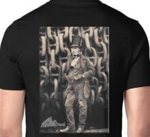 Brunel, Isambard Kingdom Brunel, Engineer, Genius, Steam Ship, Railway, Bridge, Tunnel Unisex T-Shirt