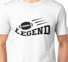 Football legend t-shirt, black Unisex T-Shirt