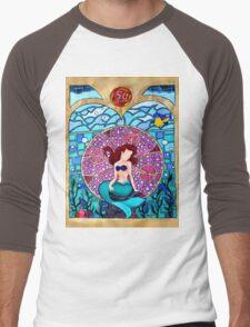 Little mermaid Men's Baseball ¾ T-Shirt