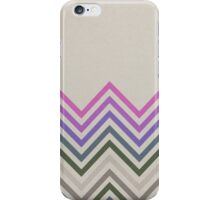 Retro lines iPhone Case/Skin