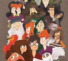 Harry Potter and the Order of Awesome by eightbreeze