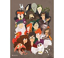 Harry Potter and the Order of Awesome Photographic Print