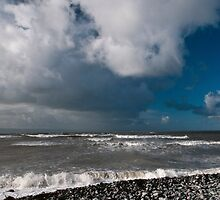 Seascape at Nash Point by Nick Jenkins