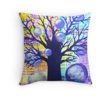 Bubbly Personality Throw Pillow