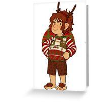 Christmas Bilbo Greeting Card