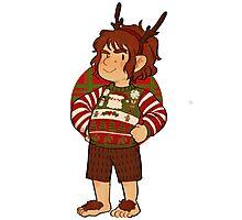 Christmas Bilbo Photographic Print