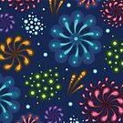 Fireworks pattern by oksancia