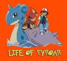 Life Of Pyroar Kids Tee