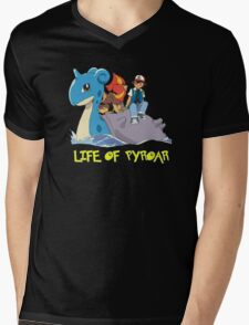 Life Of Pyroar Mens V-Neck T-Shirt